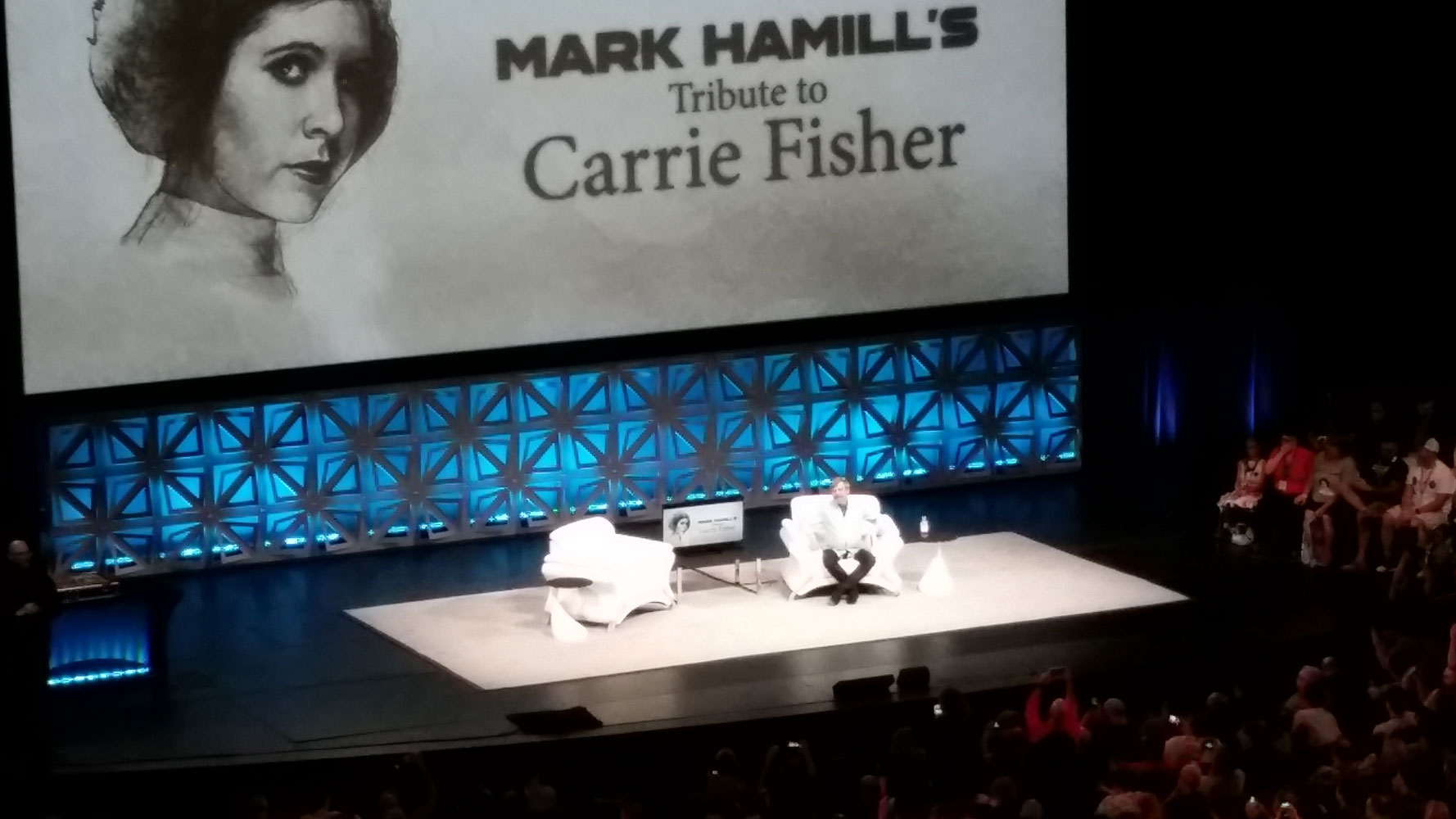 Got to see Mark Hamill's tribute to Carrie live :D