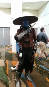OMG, it's Cad Bane!  One of my favorite characters from The Clone Wars