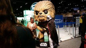 Captain Phasma with Giant Chewbacca Funko Pop