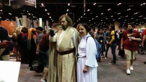 Luke and Leia Cosplay