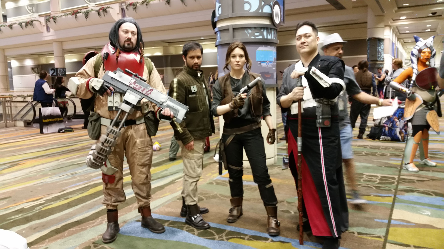 Rogue One cosplay group