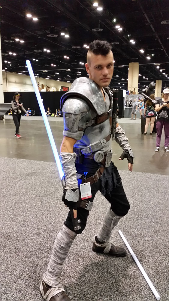 Original Star Wars cosplay. Mad Max meets Star Wars!