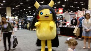 Darth Pikachu!!!  Force lightning, indeed!