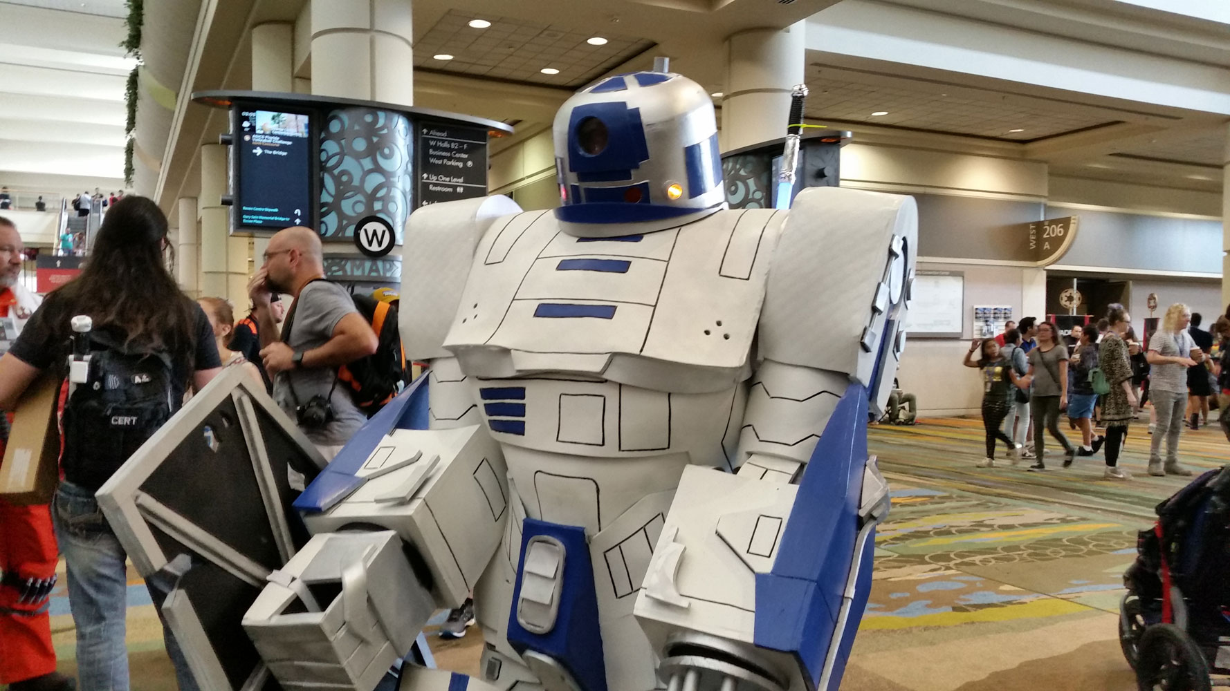 R2-D2 + Transformers!  More than meets your bleepbloop!