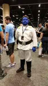 Thrawn cosplay