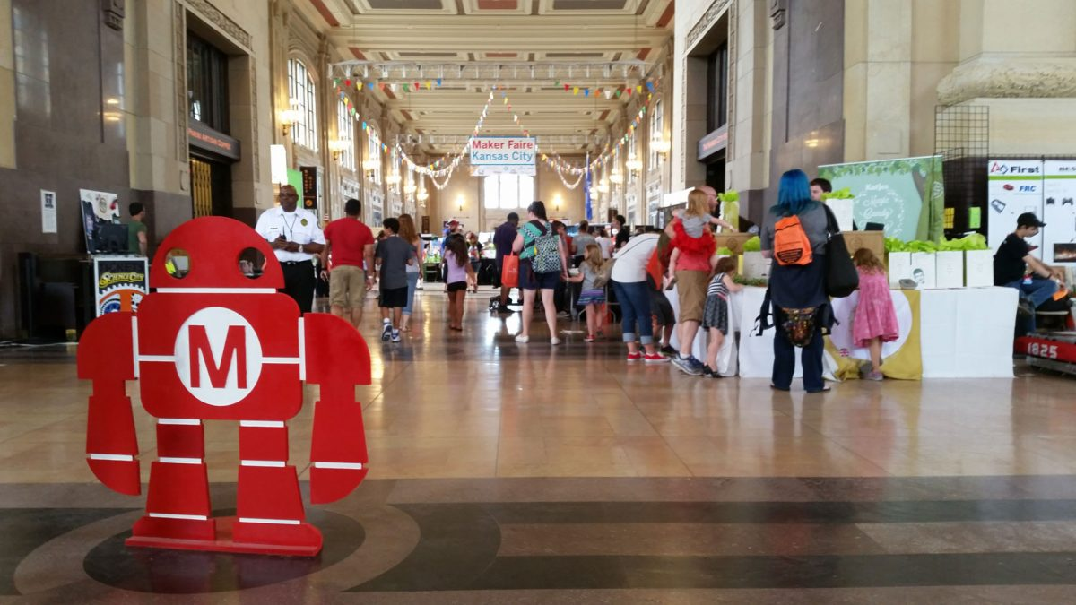 Maker Faire KC June 26, 2017 at Union Station
